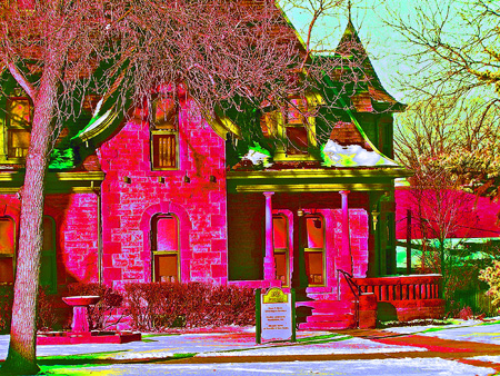 Avery House Photo Art By Tvs