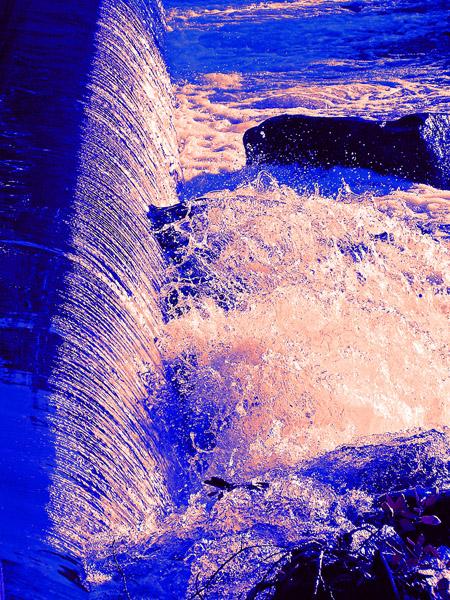 Poudre River Photo Art by TVS
