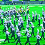 CSU Ram Band Photo Art 2010 3 by TVS