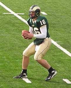 CSU Rams 2007 7 Rams-Cowboys- Caleb Hanie by TVS