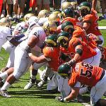 CSU Rams 2011 2 Rams-Bears Goal Line Stand by TVS