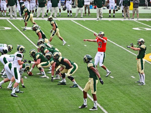 CSU Rams Green and Gold Game 4 2014 by TVS
