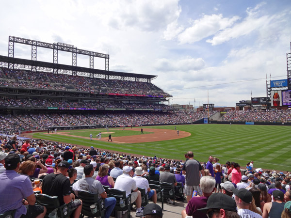 Colorado Rockies- Game Day vs San Diego Padres May 18, 2014 by TVS