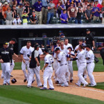 Colorado Rockies- win 8-6, 2 run homer by Justin Morneau in the 10th vs Padres by TVS