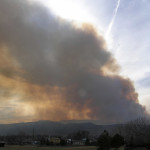 Horsetooth Fire by TVS