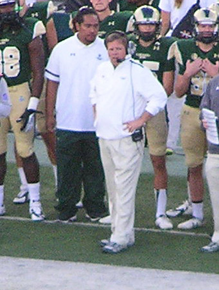Jim McElwain 2014 by TVS