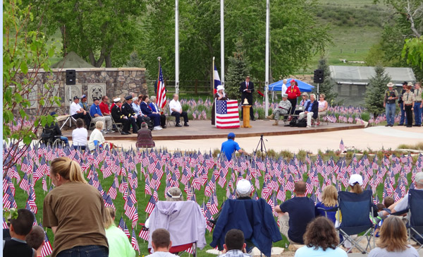 Veterans Plaza of Northern Colorado - Ceremonies May 24, 2014 by TVS