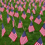 Veterans Plaza of Northern Colorado - Field of Flags 2014 by TVS