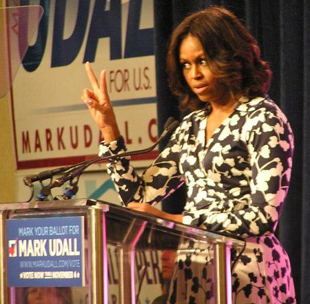 Michelle Obama 2014 by TVS 6